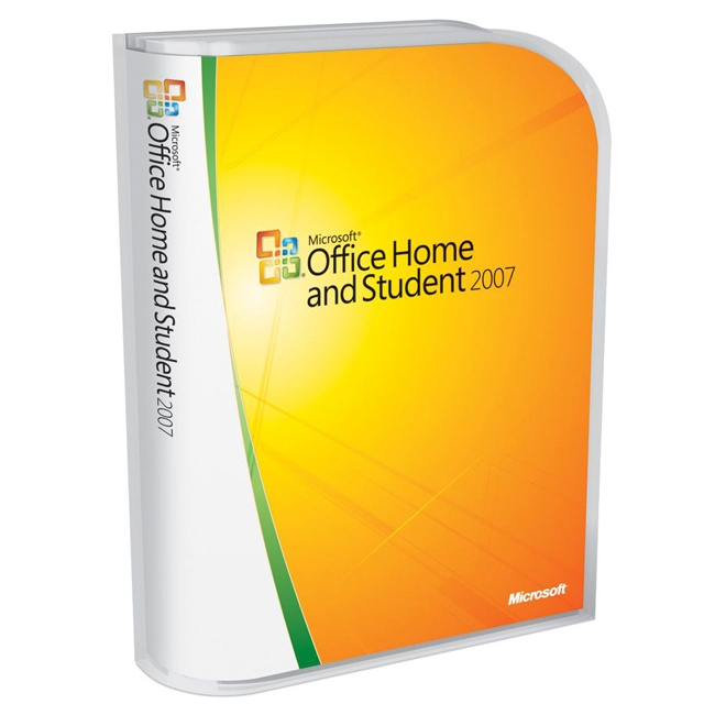 Microsoft Corporation 79G-00007 Microsoft Office 2007 Home and Student - Complete Product - 3 Device