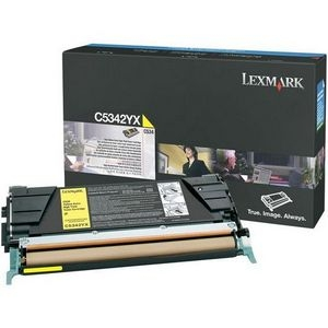 Lexmark International, Inc C5342YX Lexmark High Capacity Yellow Toner Cartridge