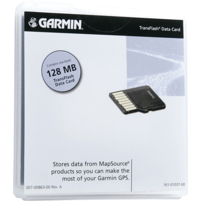 Garmin, Ltd 010-10226-13 Garmin 010-10226-13 128 MB Memory Card