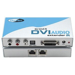 Gefen, Inc EXT-DVI-AUDIO-CAT5 Gefen DVI Audio CAT5 Extender