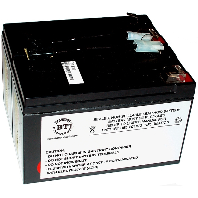 Battery Technology, Inc SLA9-BTI BTI UPS Replacement Battery Cartridge #9