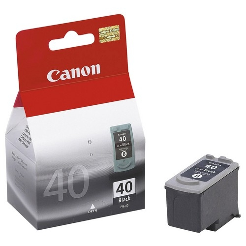 Canon, Inc 0615B013 Canon PG-40 Twin Pack Black Ink Cartridge