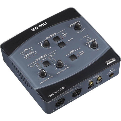 Creative Technology, Ltd 70EM876106000 Creative 70EM876106000 E-MU 0404 USB 2.0 Sound Card