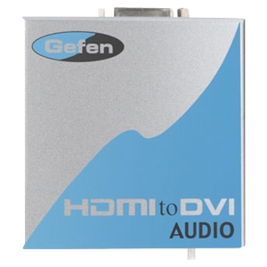Gefen, Inc EXT-HDMI-2-DVIAUD Gefen HDMI to DVI Audio/Video Converter