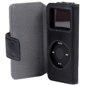Belkin International, Inc F8Z058-BR Belkin Folio Case for iPod nano