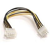 Supermicro Computer, Inc CBL-0062L Supermicro 8-pin to 8-pin Power Extension Cable