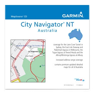 Garmin, Ltd 010-11024-00 Garmin City Navigator Australia NT Digital Map