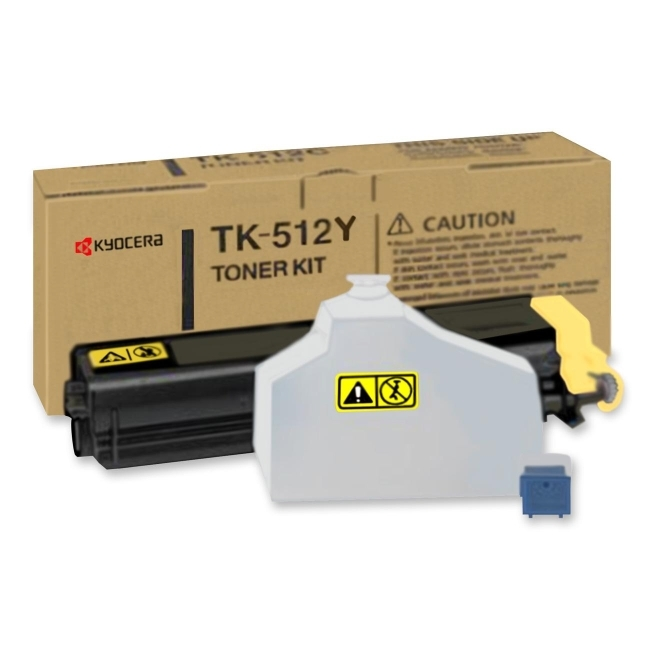 Kyocera Mita TK512Y Kyocera Mita Yellow Toner Cartridge