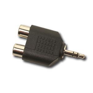 Gefen, Inc ADA-3.5MM-2-RCA Gefen RCA to Mini-Stereo Adapter