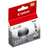 Canon, Inc 2946B001 Canon CLI-221 Black Ink Cartridge