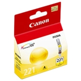 Canon, Inc 2949B001 Canon CLI-221 Yellow Ink Cartridge
