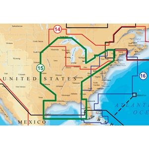 ValleySeek.com: Navionics SD/15XG Navionics XL9 GOLD - USA-CENTRAL on
