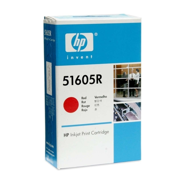 Hewlett-Packard 51605R HP Red Ink Cartridge