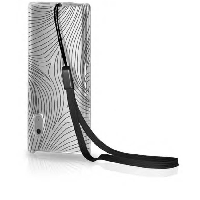 Contour Design, Inc 01333-0 Contour iSee inked Zebra Case for iPod nano 4G