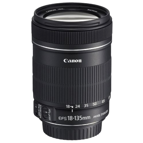 Canon, Inc 3558B002 Canon EF-S 18-135mm F/3.5-5.6 IS Zoom Lens