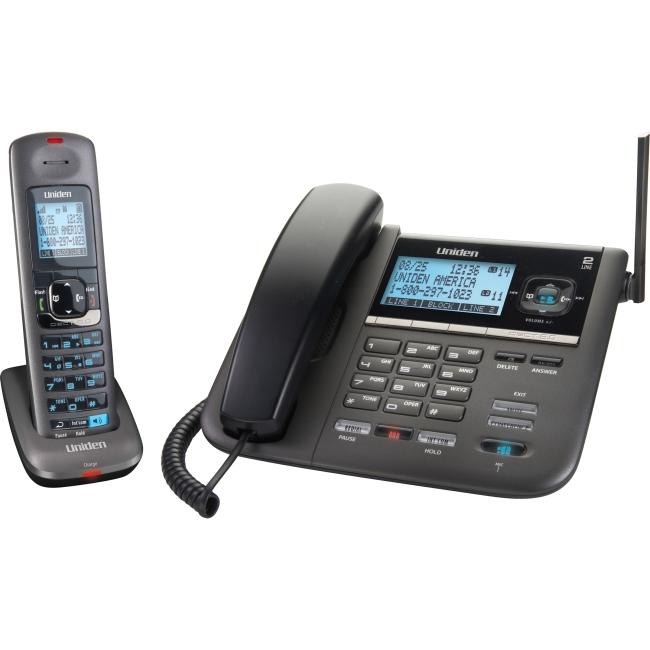 2 line corded phones with intercom