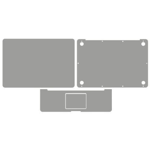 Wrapsol, LLC COAP009 Wrapsol COAP009 Full Body Skin for Macbook Pro 15""