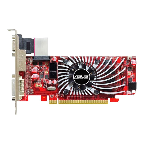 ASUS Computer International EAH5570/DI/1GD3(LP) Asus EAH5570/DI/1GD3(LP) Radeon 5570 Graphic Card - 650 MHz Core - 1 GB DDR3 SDRAM - PCI Express 2.1