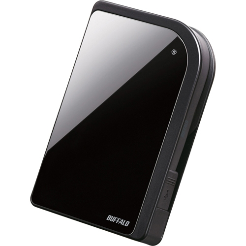 Buffalo Technology (USA), Inc HD-PXT500U2/B Buffalo MiniStation Metro 500 GB External Hard Drive - Blue Onyx