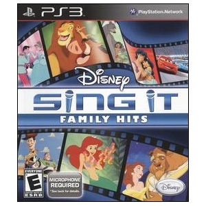Disney Interactive 10415400 Disney Interactive Disney Sing It: Family Hits - Complete Product