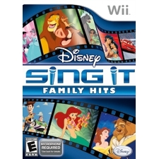 Disney Interactive 10494500 Disney Interactive Disney Sing It: Family Hits with Microphone - Complete Product