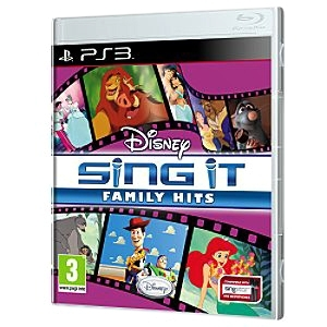 Disney Interactive 10494300 Disney Interactive Sing It: Family Hits - Complete Product