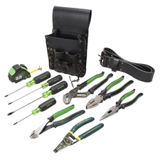 Greenlee Textron, Inc 0159-13 Greenlee Electricians Tool Kit