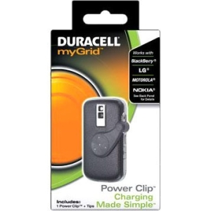Procter & Gamble 000-41333-00373-3 Duracell myGrid Cellphone Power Clip