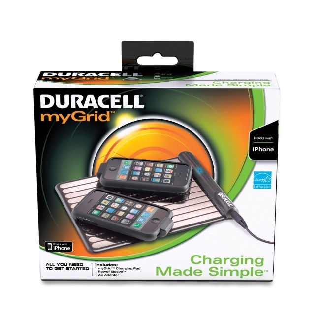 Procter & Gamble 000-41333-42335-7 Duracell 42235 myGrid Induction Charger