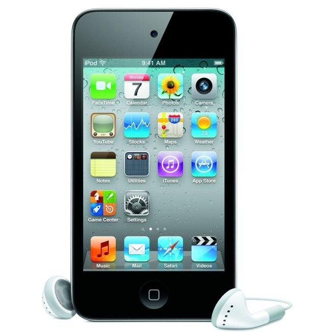 Apple, Inc MC544LL/A Apple iPod touch MC544LL 32 GB Black Flash Portable Media Player