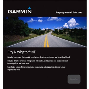 Garmin, Ltd 010-11550-00 Garmin City Navigator 010-11550-00 Middle East and Northern Africa NT Digital Map