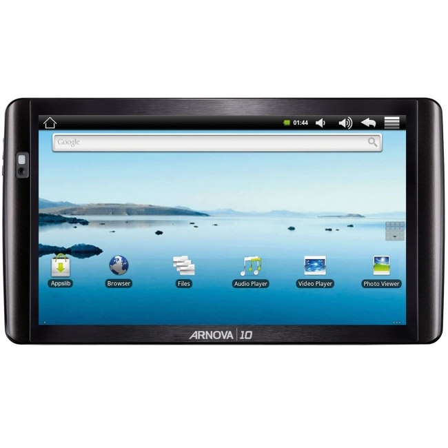 "Archos Technology 501714 Arnova 10 10.1"" Tablet Computer - Rockchip 2818 640 MHz - Black"