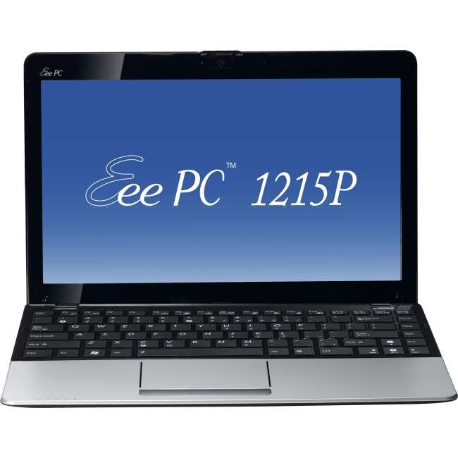 "ASUS Computer International 1215P-MU27-SL Asus Eee PC 1215P-MU27-SL 12.1"" LED Netbook - Intel Atom N570 1.66 GHz - Silver"