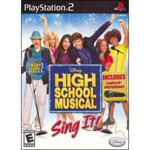 Disney Interactive 7013701 Disney Interactive High School Musical: Sing It!