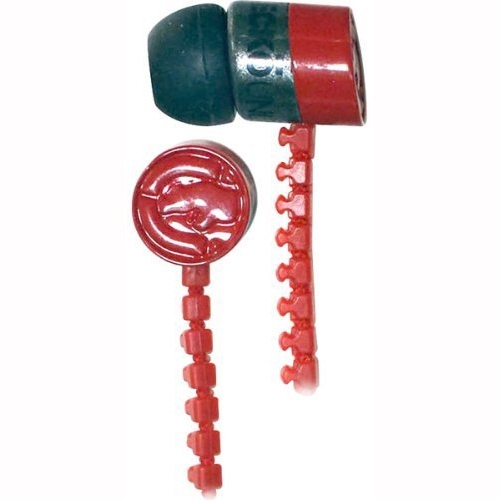 Mizco International EKU-ZIP-RD Marc Ecko Ear Bud