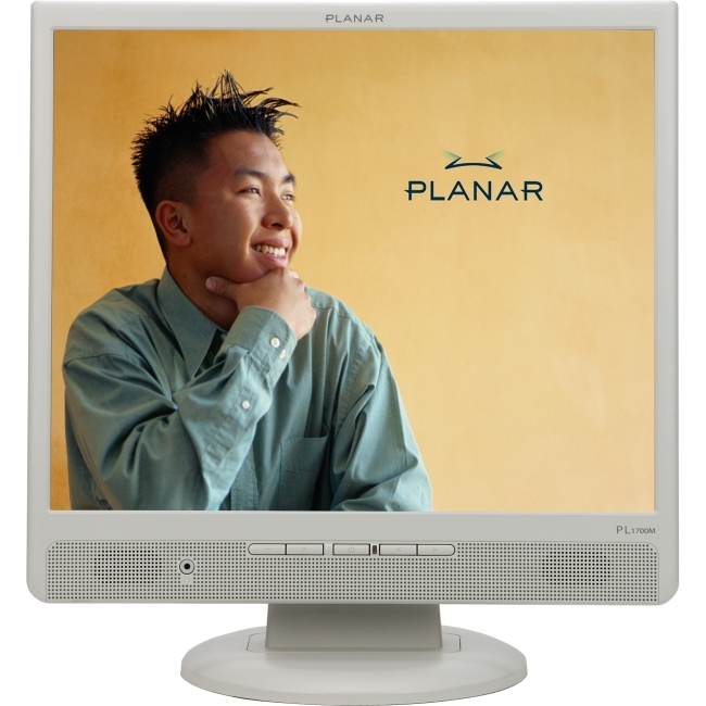 "Planar Systems, Inc 997-2850-00 Planar PL1700M-white 17"" LCD Monitor - 5 ms"