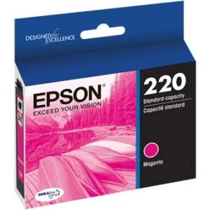 Epson Corporation T220320 Epson DURABrite Ultra Ink T220 Ink Cartridge - Magenta