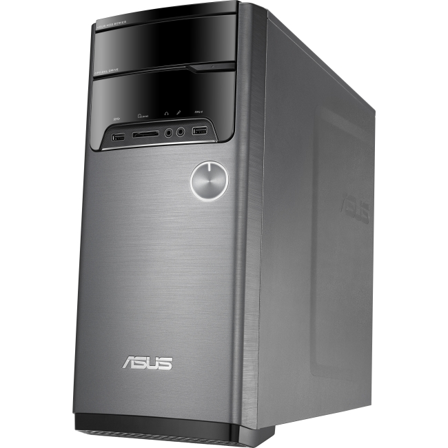 ASUS Computer International M32BF-US004S Asus M32BF M32BF-US004S Desktop Computer - AMD A-Series A8-5500 3.20 GHz - Black