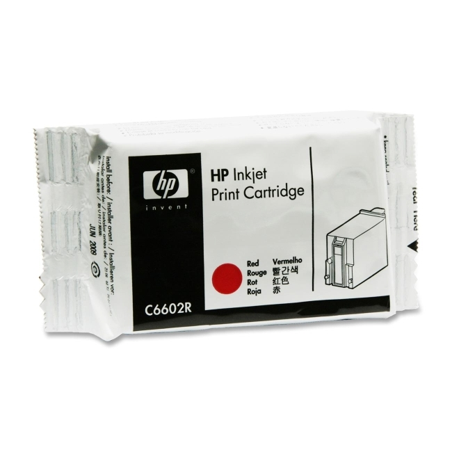 Hewlett-Packard C6602R HP Red Thermal Ink Cartridge