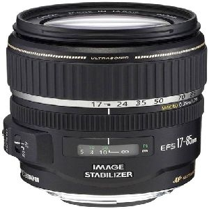 Canon, Inc 9517A002 Canon EF-S 17-85MM f/4-5.6 IS USM Standard Zoom Lens