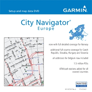 Garmin, Ltd 010-10373-00 Garmin City Navigator Europe Digital Map