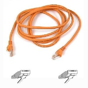 Belkin International, Inc A3L791-04-ORG Belkin Cat. 5E UTP Patch Cable