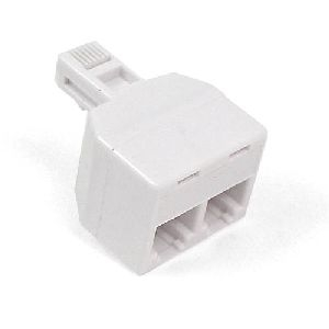 Belkin International, Inc F8V106-WH Belkin Dual Jack Adapter