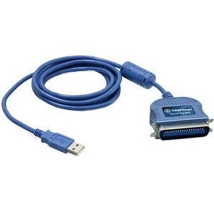 TRENDnet TU-P1284 TRENDnet TU-P1284 USB to Parallel Printer Cable Adapter