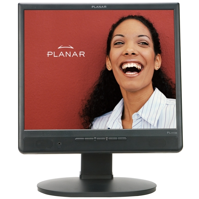 "Planar Systems, Inc 997-3111-00 Planar PL1711M 17"" LCD Monitor - 4:3 - 5 ms"