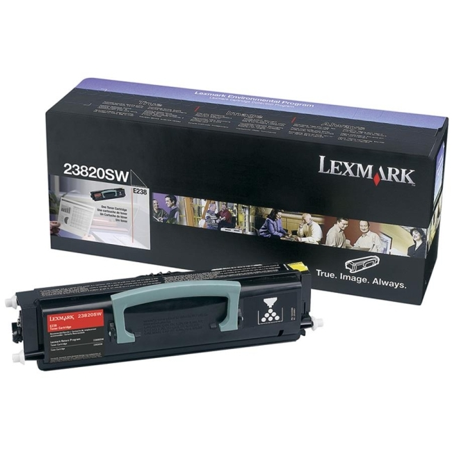 Lexmark International, Inc 23820SW Lexmark Black Toner Cartridge