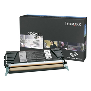 Lexmark International, Inc C5202KS Lexmark Black Toner Cartridge