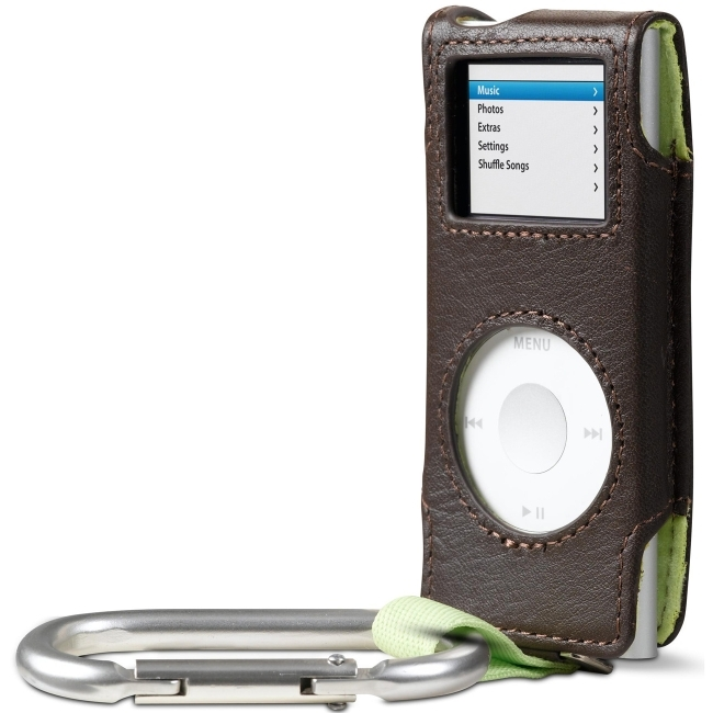 Belkin International, Inc F8Z057-PL Belkin Carabiner Case for iPod nano